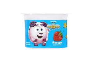 Йогурт 1.4% полуничний Смешарики ст 115г