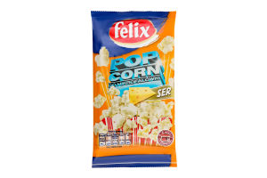Попкорн зі смаком сиру для НВЧ Felix м/у 90г