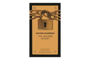 Antonio Banderas The Golden Secret чол.т/вода 100мл