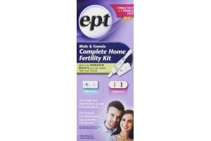 E.P.T Male & Female Complete Home Fertility Kit