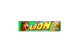 Вафли Lion Just Wild с арахисом