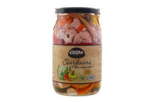Овочі мариновані Giardiniera Стодола с/б 900г