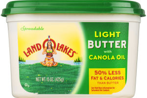 Land O Lakes Spread Light Butter With Canola Oil