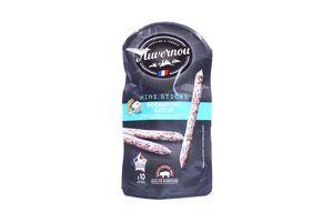 Ковбаски Avernou міні-палочки Рокфор-горіх с/в 100г Франція