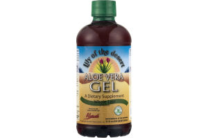 Lily Of The Desert Aloe Vera Gel Whole Leaf Dietary Supplement