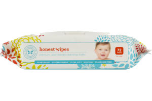 The Honest Co. Honest Wipes Fragrance Free - 72 CT