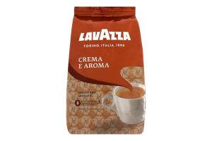 Кава Lavazza у зернах Crema e Aroma смажена 1000г х6