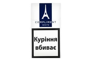 Сигареты с фильтром Compliment Demi Slіms White 20шт