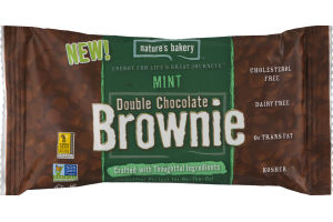 Nature's Bakery Double Chocolate Brownie Mint