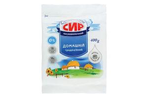 Сир кисломолочний нежирний Білоцерківське 400г
