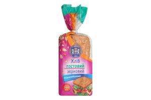 Хліб Кулиничі тостовий Європейський зерновий в уп. 350г