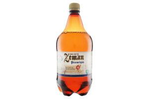 Пиво Zeman Premium світле пет 1л х6
