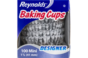 Reynolds Designer Mini Baking Cups - 100 CT