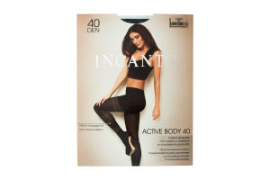 Колготки жіночі Incanto Active Body 40den 4-L nero