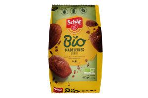 Міні-тістечка шоколадні Madeleines Bio Schar м/у 150г