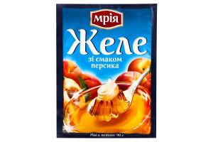 Желе швидкого приготування зі смаком персика Мрія м/у 90г