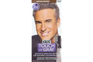 Just For Men Touch Of Gray Easy Comb-In Haircolor T-35 Medium Brown