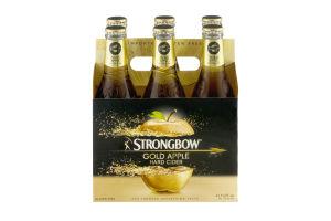 Strongbow Gold Apple Hard Cider - 6 PK