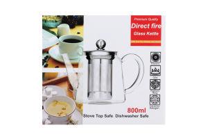Чайник заварочный со сьемным фильтром 800мл Yi-*2