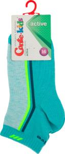 CONTE-KIDS ACTIVE Шкарпетки дитячі р.16 134 бірюза