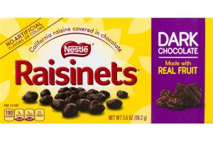 Nestle Raisinets Dark Chocolate