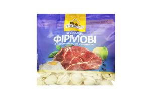 Пельмені з яловичиною і свининою Фірмові Три ведмеді м/у 400г