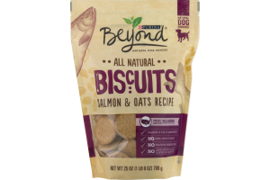 Purina Beyond All Natural Dog Biscuits Salmon & Oats