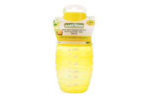 Пляшечка для годування з широким горлом та силіконовою соскою 250мл №1002 Baby Team 1шт