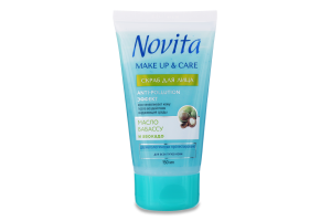Скраб для обличчя Make Up&Care Novita 150мл