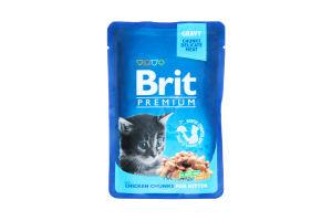 Корм для котят Brit Премиум с курицей