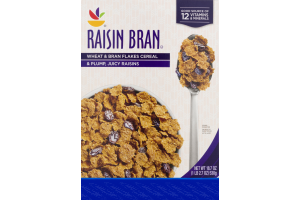 Ahold Wheat & Bran Flakes Cereal Raisin Bran