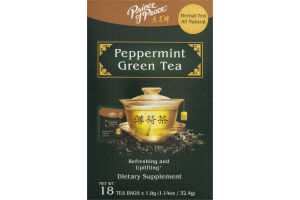 Prince of Peace Peppermint Green Tea - 18 CT