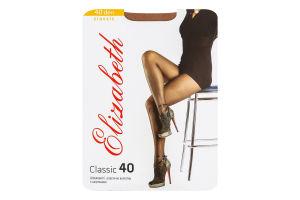 Колготки жіночі Elizabeth Classic 40den 2 visone