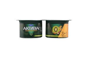 Бифидойогурт 3% Киви-мюсли Активіа ст 4х115г