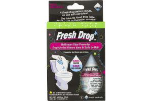 Fresh Drop Bathroom Odor Preventor