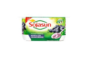 Десерт соевый Sojasun черника+кальций 2,1% ст