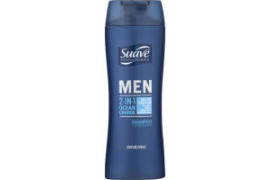 Suave Professionals Men 2-In-1 Shampoo + Conditioner Ocean Charge