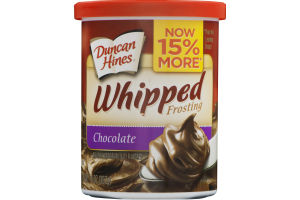 Duncan Hines Whipped Frosting Chocolate