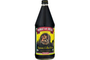 Manhattan Special Original Coffee Soda Espresso