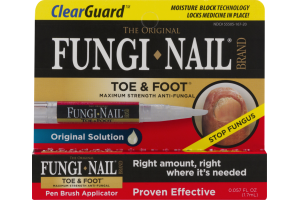 Clear Gaurd The Original Fungi Nail Brand Toe & Foot Pen Brush Applicator