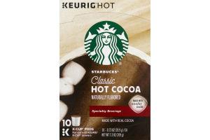 Starbucks Classic Hot Cocoa K-Cup Pods - 10 CT