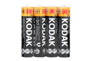 Батарейка KODAK XTRALIFE LR03 1x4 шт. Коробка