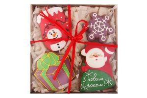 Набор пряников СмакоТая Подарок Деда Мороза