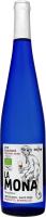 Вино 0.75л 12% біле напівсолодке La Mona пл