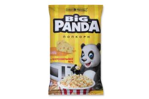 Попкорн зі смаком сиру для мікрохвильової печі Big Panda м/у 100г