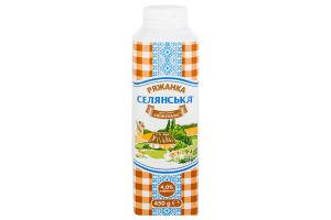 Ряженка 4% Селянська т/п 450г