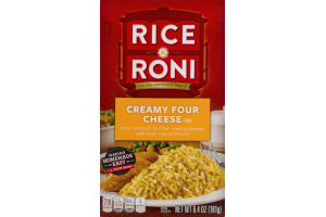 Rice A Roni Creamy Four Cheese Flavor