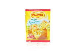 Пюре картофельное Роллтон со вкусом курицы м/у 37г