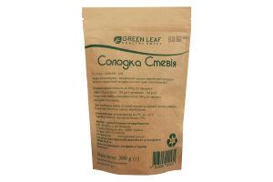 Green Leaf Солодка стевія ПУ 300г