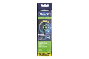 Насадки змінні для електричної зубної щітки Black Edition Cross Action CleanMaximiser Oral-B 4шт